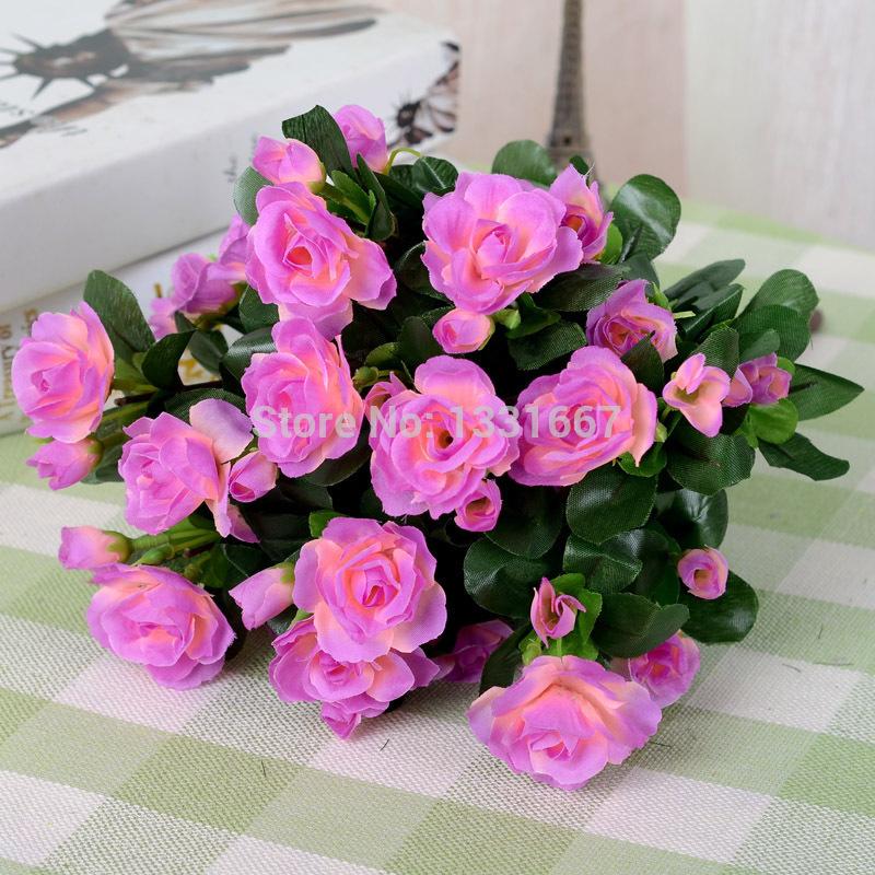 dry azalea flowers