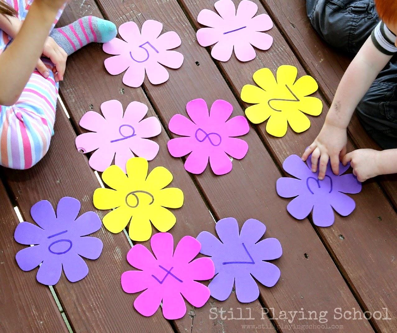 flower garden kids