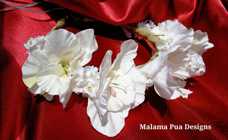hibiscus flower crown